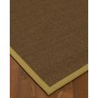 Kerner Border Hand-Woven Brown/Khaki Area Rug Rug Size: Rectangle 12' x 15', Rug Pad Included: Yes