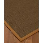 Kerner Border Hand-Woven Brown/Sienna Area Rug Rug Size: Rectangle 6' x 9', Rug Pad Included: Yes