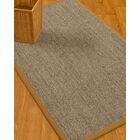 Mahan Border Hand-Woven Gray/Brown Area Rug Rug Size: Rectangle 4' x 6', Rug Pad Included: Yes