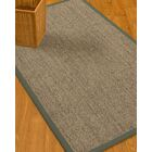 Mahan Border Hand-Woven Gray/Stone Area Rug Rug Size: Rectangle 8' x 10', Rug Pad Included: Yes