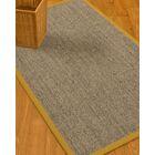 Mahan Border Hand-Woven Gray/Tan Area Rug Rug Pad Included: No, Rug Size: Rectangle 3' x 5'