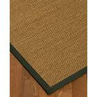 Chavis Border Hand-Woven Beige/Metal Area Rug Rug Size: Rectangle 6' x 9', Rug Pad Included: Yes