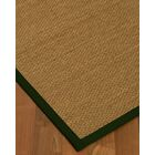 Chavis Border Hand-Woven Beige/Moss Area Rug Rug Size: Rectangle 5' x 8', Rug Pad Included: Yes