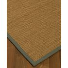 Chavis Border Hand-Woven Beige/Stone Area Rug Rug Size: Rectangle 8' x 10', Rug Pad Included: Yes