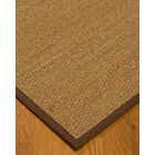 Anya Border Hand-Woven Beige/Brown Area Rug Rug Size: Rectangle 9' x 12', Rug Pad Included: Yes