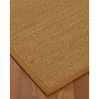 Anya Border Hand-Woven Beige/Sienna Area Rug Rug Size: Rectangle 5' x 8', Rug Pad Included: Yes