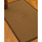 Huntwood Border Hand-Woven Brown Area Rug Rug Pad Included: No, Rug Size: Runner 2'6
