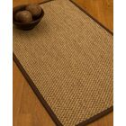 Heier Border Hand-Woven Brown/Beige Area Rug Rug Pad Included: No, Rug Size: Runner 2'6