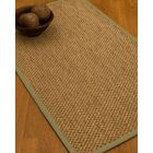 Heier Border Hand-Woven Brown/Sand Area Rug Rug Pad Included: No, Rug Size: Rectangle 3' x 5'