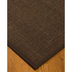Kersh Border Hand-Woven Brown Area Rug Rug Size: Rectangle 4' x 6', Rug Pad Included: Yes