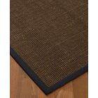Kersh Border Hand-Woven Brown/Midnight Blue Area Rug Rug Size: Rectangle 9' x 12', Rug Pad Included: Yes