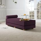 Choy Convertible Daybed with Mattress Color: Pinot