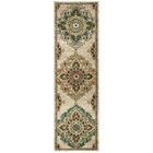 Hedberg Medallions Beige/Green Area Rug Rug Size: Rectangle 2'3