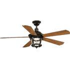 Mueller 5 Blade Outdoor Ceiling Fan Blade Color: Antique Bronze