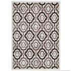 Nolasco Rustic Vintage Moroccan Trellis Brown/Beige/Ivory Area Rug Rug Size: 8' x 10'