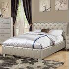 Kingsview Upholstered Platform Bed Size: King, Color: Silver