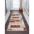 Weishaar Brown/Beige Area Rug Rug Size: 2'3''x 10'