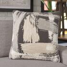 Finola Throw Pillow Color: Charcoal