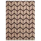 Johns Hand-Knotted Wool Beige/Brown Area Rug Rug Size: Rectangle 10' x 14'