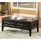 Lochleven Transitional Coffee Table with Storage