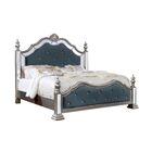 Mcdermott Mirrored Upholstered Panel Bed