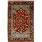One-of-a-Kind Doerr Hand-Knotted Wool Red Indoor Area Rug