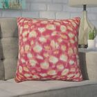 Kibby Throw Pillow Color: Azalea, Size: 20