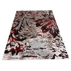 Inglesbatch Gray/Red Area Rug