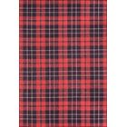 York Red Area Rug Rug Size: Rectangle 7'6