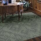 Distressed Tribal Green Area Rug Rug Size: 5' x 8'