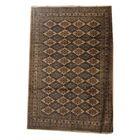 One-of-a-Kind Lyall Hand-Knotted Wool Ivory/Blue Area Rug