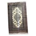 One-of-a-Kind Percival Hand-Knotted Wool Gray/Ivory Area Rug