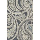 Damron Paisley Gray Area Rug Rug Size: Rectangle 5' x 8'