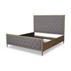 Northstate Box Tufting Upholstered Panel Bed Color: Gray, Size: California King