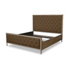 Northstate Box Tufting Upholstered Panel Bed Color: Brown, Size: King