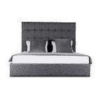 Handley Upholstered Platform Bed Color: Charcoal, Size: Mid Height Queen