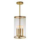 Gilford 4-Light Cylinder Pendant Finish: Satin Brass
