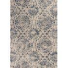 Crozier Mosaic Ivory/Blue Area Rug Rug Size: Rectangle 5'3
