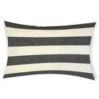 Ogawa Cotton Lumbar Pillow Color: Black