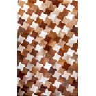 One-of-a-Kind Columban Hand-Woven Cowhide Brown Area Rug Rug Size: Rectangle 9' x 12'