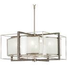 Zaleski 6-Light Square/Rectangle Chandelier