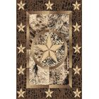 Pickard Wool Brown Area Rug Rug Size: Rectangle 7'11