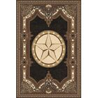 Makowski Wool Black Area Rug Rug Size: Rectangle7'11