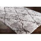 Cianciolo Trellis Hand-Tufted Gray/Charcoal Area Rug Rug Size: Rectangle 8' x 10'