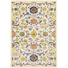 Anil Distressed Floral Mustard/Cream Area Rug Rug Size: Rectangle 7'6