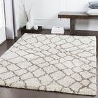 Dileo Trellis Brown/Khaki Area Rug Rug Size: Rectangle 5'3