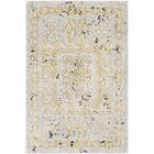 Nakasi Distressed Beige/Gray Area Rug Rug Size: Rectangle 3'11