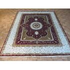 One-of-a-Kind Rhyne Burgundy Hand-Knotted Wool Red Area Rug