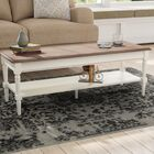 Callery Coffee Table Base Color: White, Top Color: Driftwood