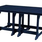 Patricia Dining Table Color: Patriot Blue